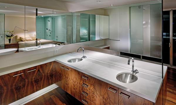 luxury penthouse apartment interior  san francisco