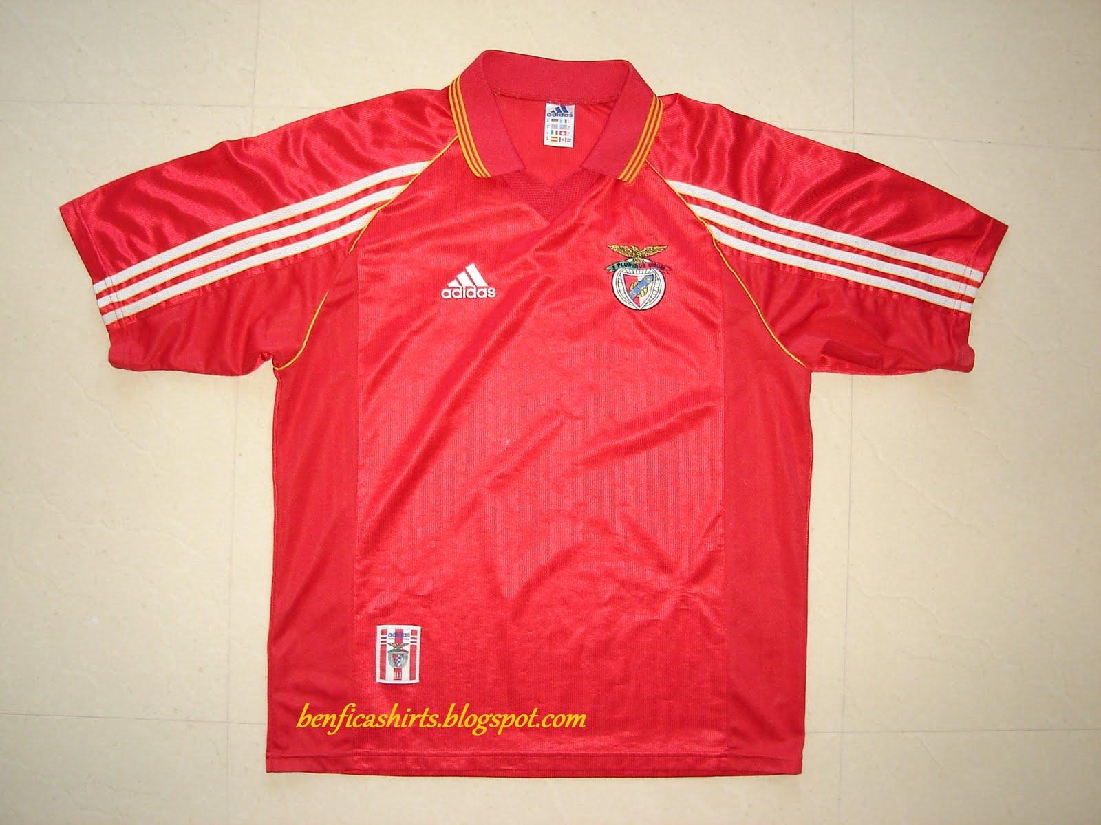 Sport Lisboa e Benfica Shirts (Camisolas do S.L. Benfica)  1998 ... 7aa455c0e1225