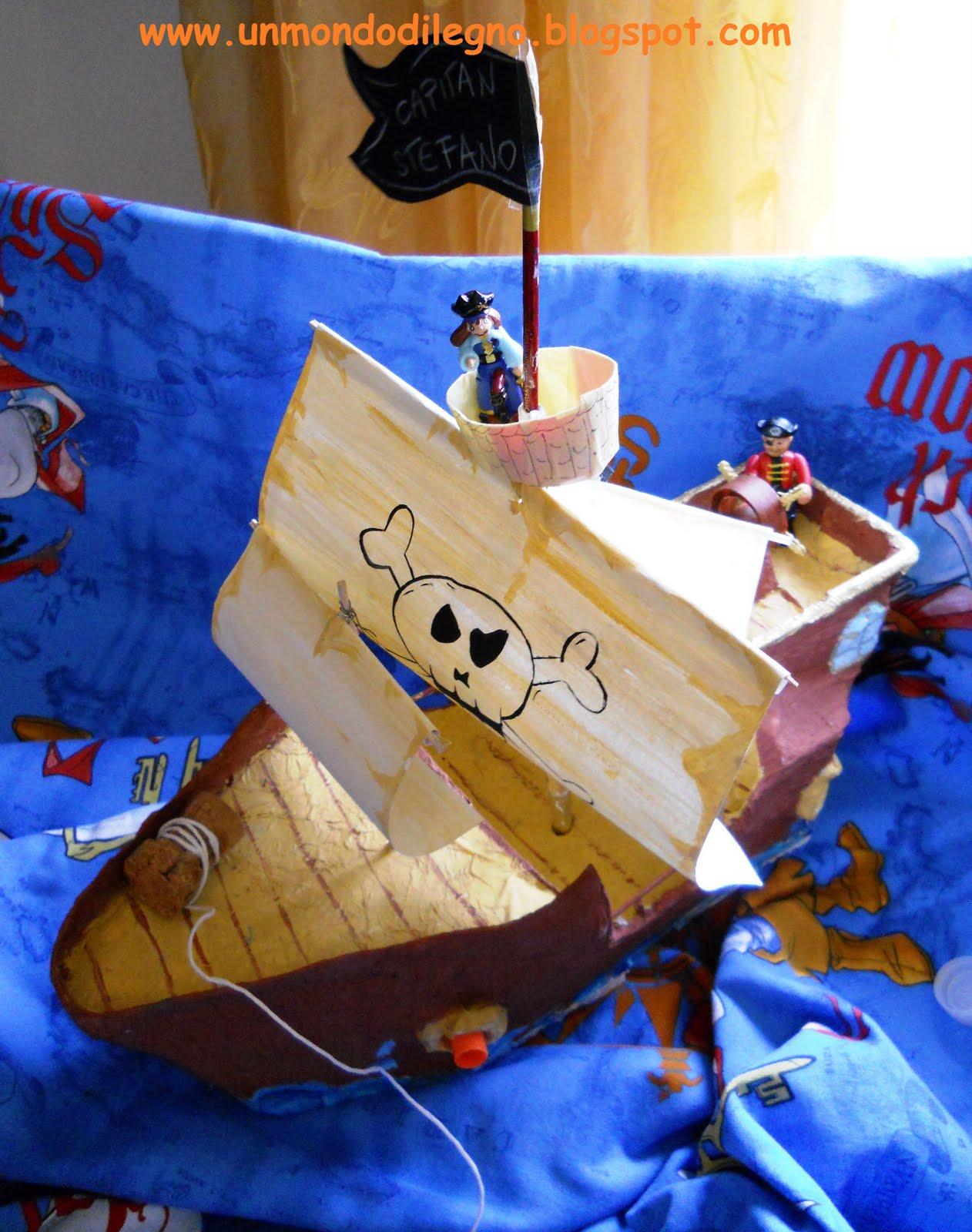 Un mondo di legno la nave di capitan nigno stefano for Regalo oggetti usati
