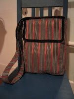 messenger bag with gusset