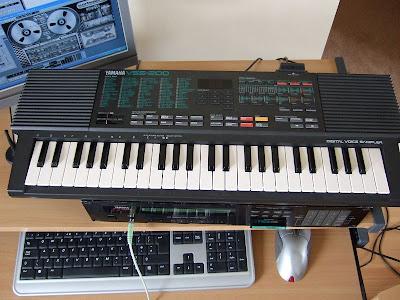 Totally Keyboard: Yamaha VSS-200