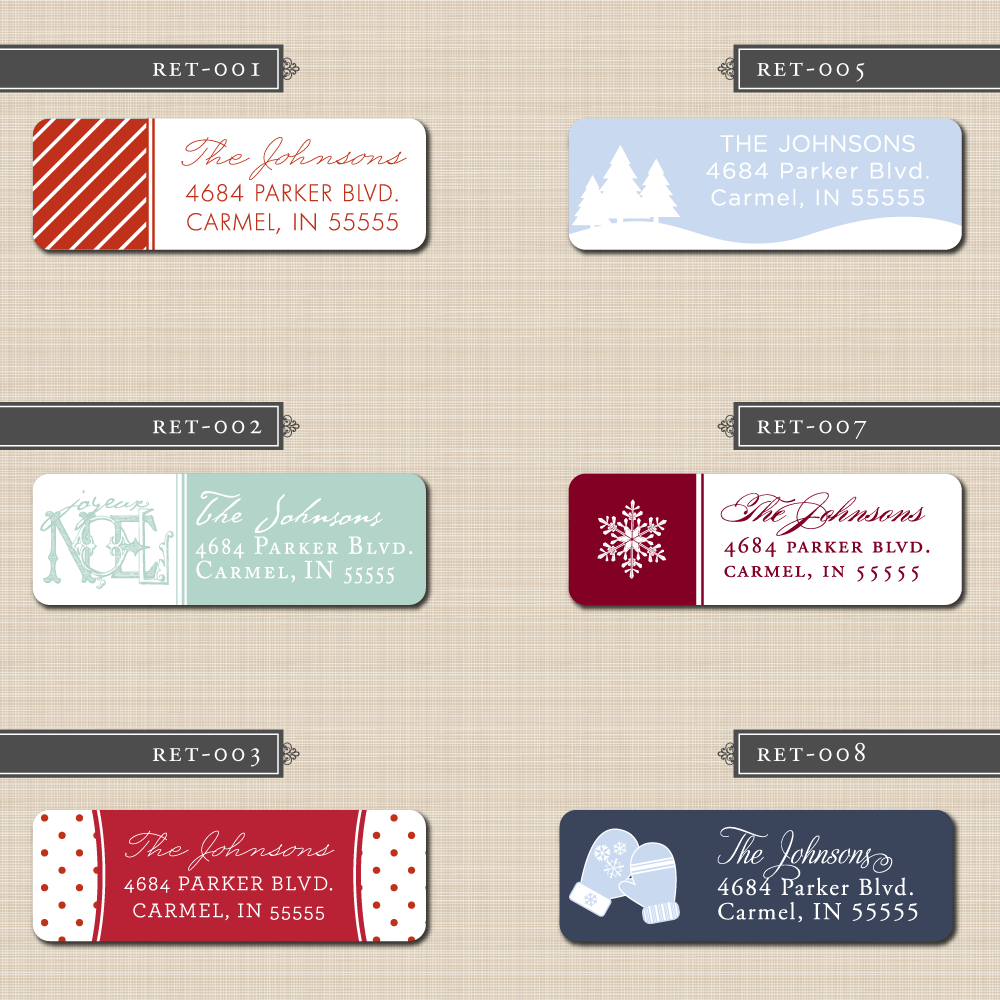 Colorful Images offers a huge variety of Christmas address labels & mailing labels for your holiday correspondence. Explore our Christmas selection now!