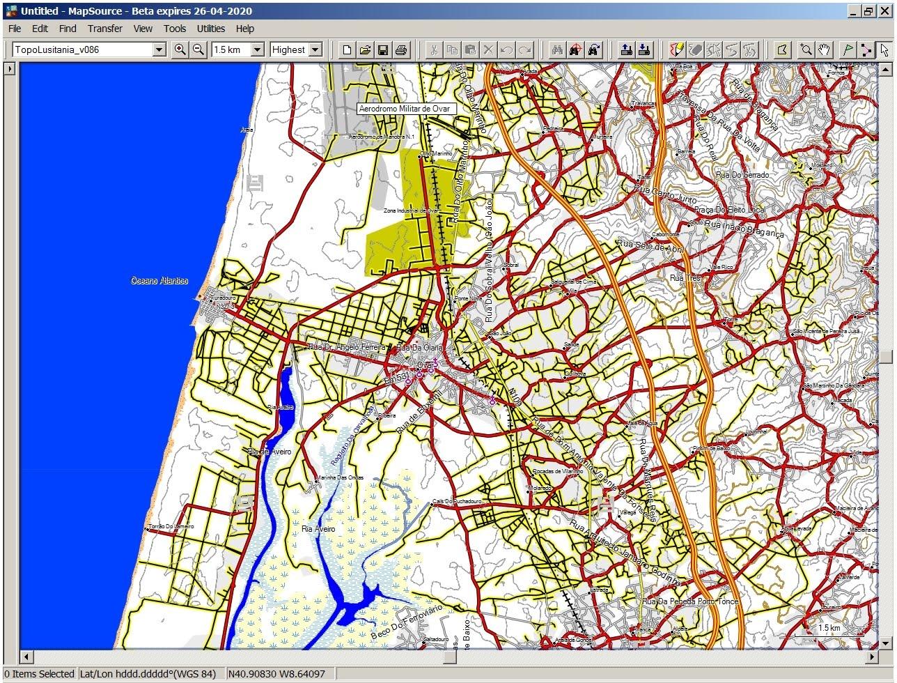 mapa gps portugal TopoLusitania   Mapa Topográfico de Portugal para GPS em formato  mapa gps portugal