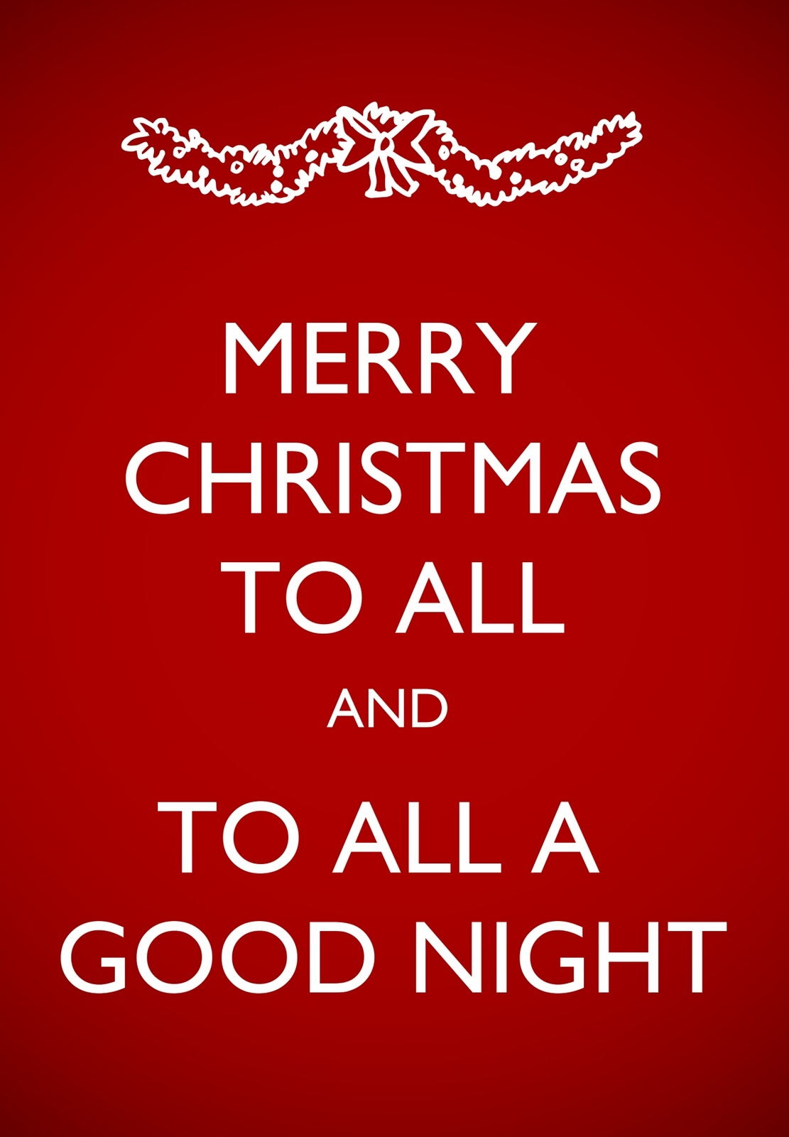 Agape Love Designs Merry Christmas to All Printables