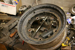 Used Harleys For Sale >> PLANET MOTHERFUCKERS: Flathead Ford wide five 15 inch wheels