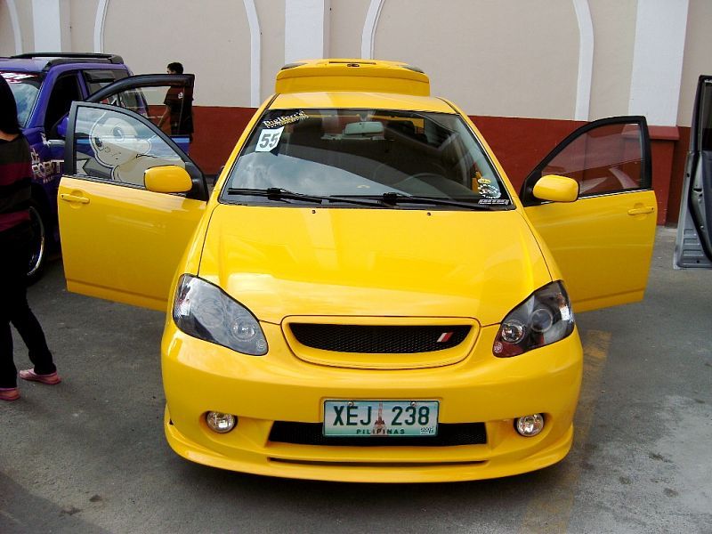 Sport Cars Modified Toyota Corolla Altis 2002 Pictures