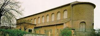 Vista Posterior. Santa Sabina