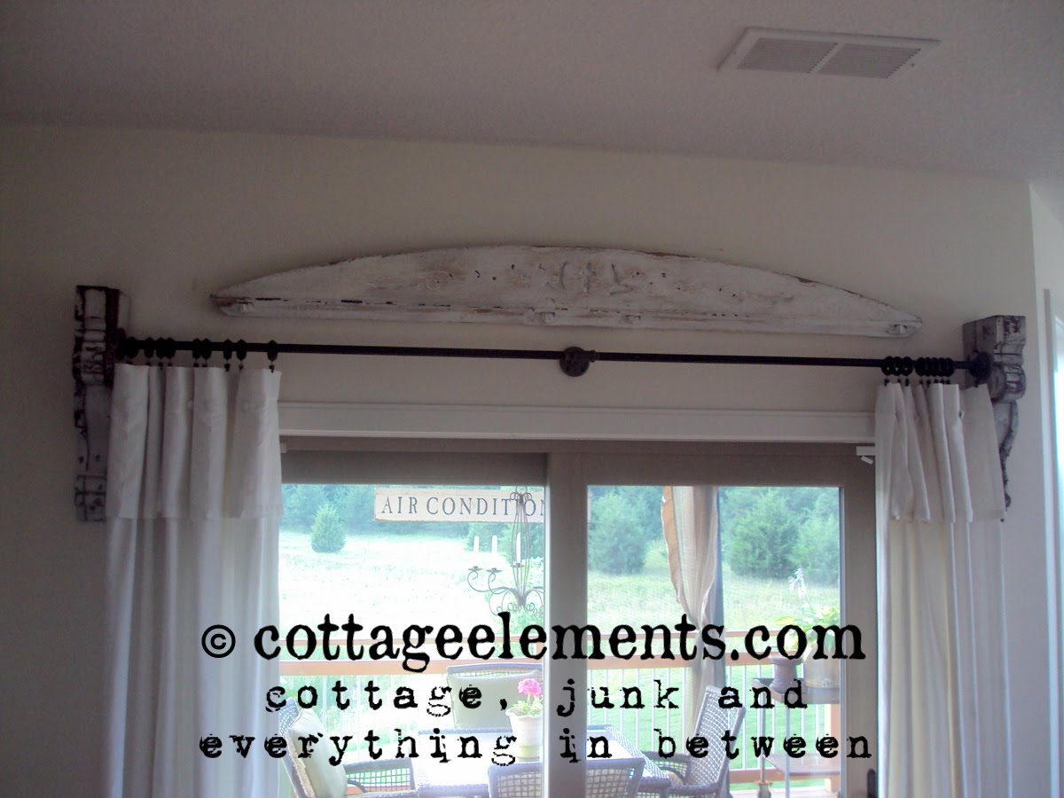 Cottage Elements From Corbels To Curtain Rods