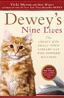[2 Book Giveaway] Dewey's Nine Lives by Vicki Myron AND The Fat Man: A Tale of North Pole Noir by Ken Harmon