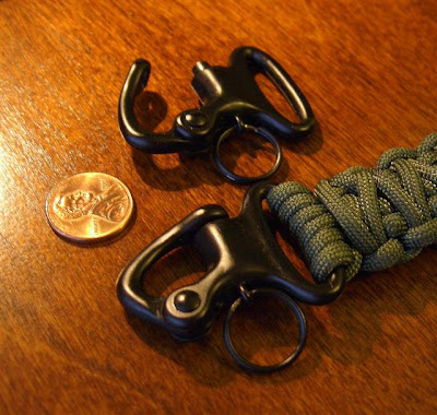I Bought A Of These Black Painted Bronze Snap Shackles From Mil Spec Monkey To Use With Paracord Lanyards