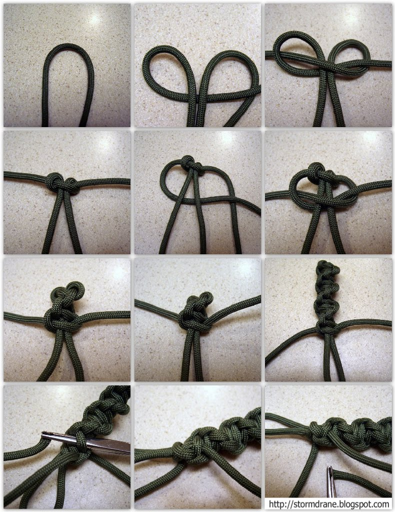 Stormdrane S Blog Twisted Spiral Paracord Cross