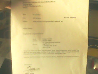 Contoh Surat Permohonan Pengesahan Part List Suatu  Perangkat