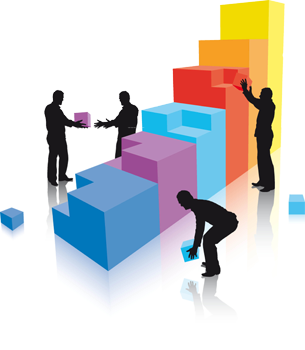 Building The Team That Sells Effectively |Team Building Blocks Graphics