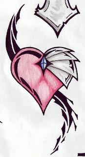 All Heart Tattoo: Heart Tattoos With Image Heart Tattoo ...