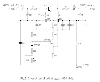 Broadband RF Amplifier For TV Transmitter 5W | RF Circuits