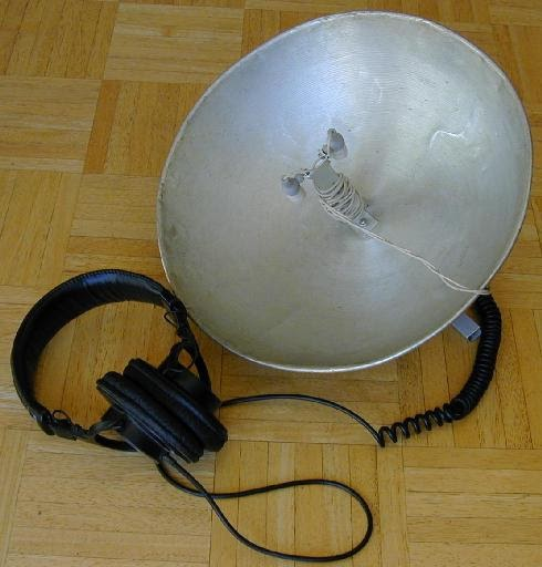 Stereo Parabolic Microphone | Electronic Circuits ...