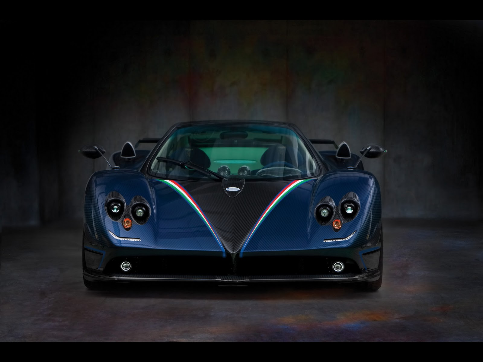 Pintures M Vich Cars Hd Wallpapers 2010 Pagani Zonda Tricolore