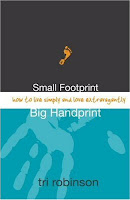 robinson+book Book Review: Small Footprint, Big Handprint lifestyle