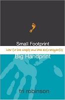 robinson+book Book Review: Small Footprint, Big Handprint lifestyle