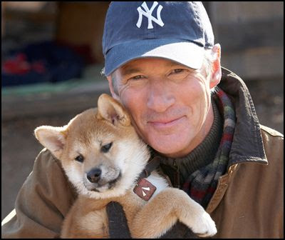 Richard Gere in the movie Hachiko A Dog's Story