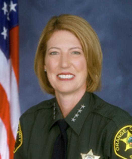 Crime Guns And Videotape Orange County Sheriff Sandra Hutchens
