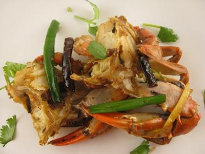 style asian fried recipe Crab stir