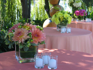 Fiori Floral Design: A Poolside Dinner Party