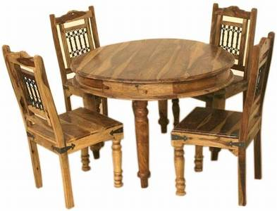 Colonial Style Round Dining Table