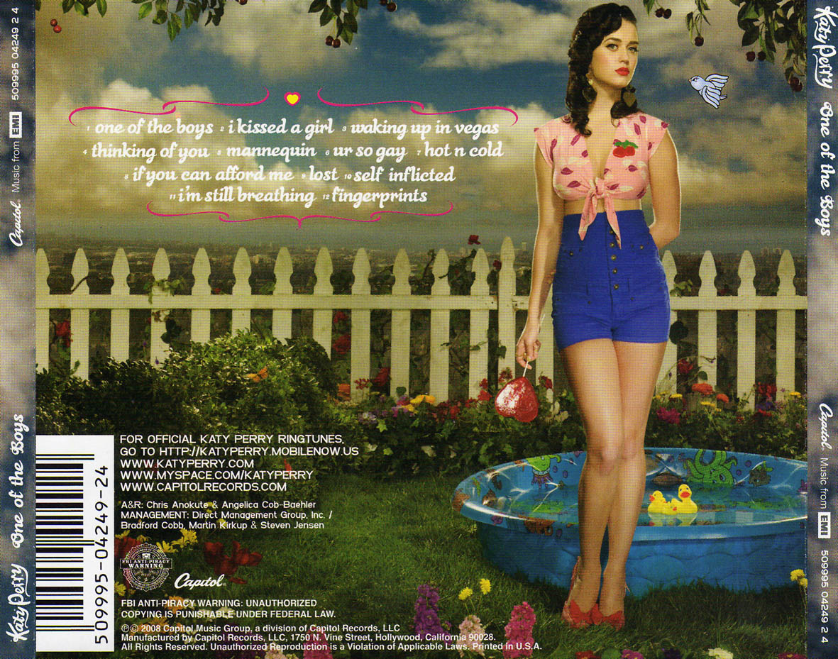 what are the lyrics to one of the boys by katy perry Katy Perry One Of The Boys Poster