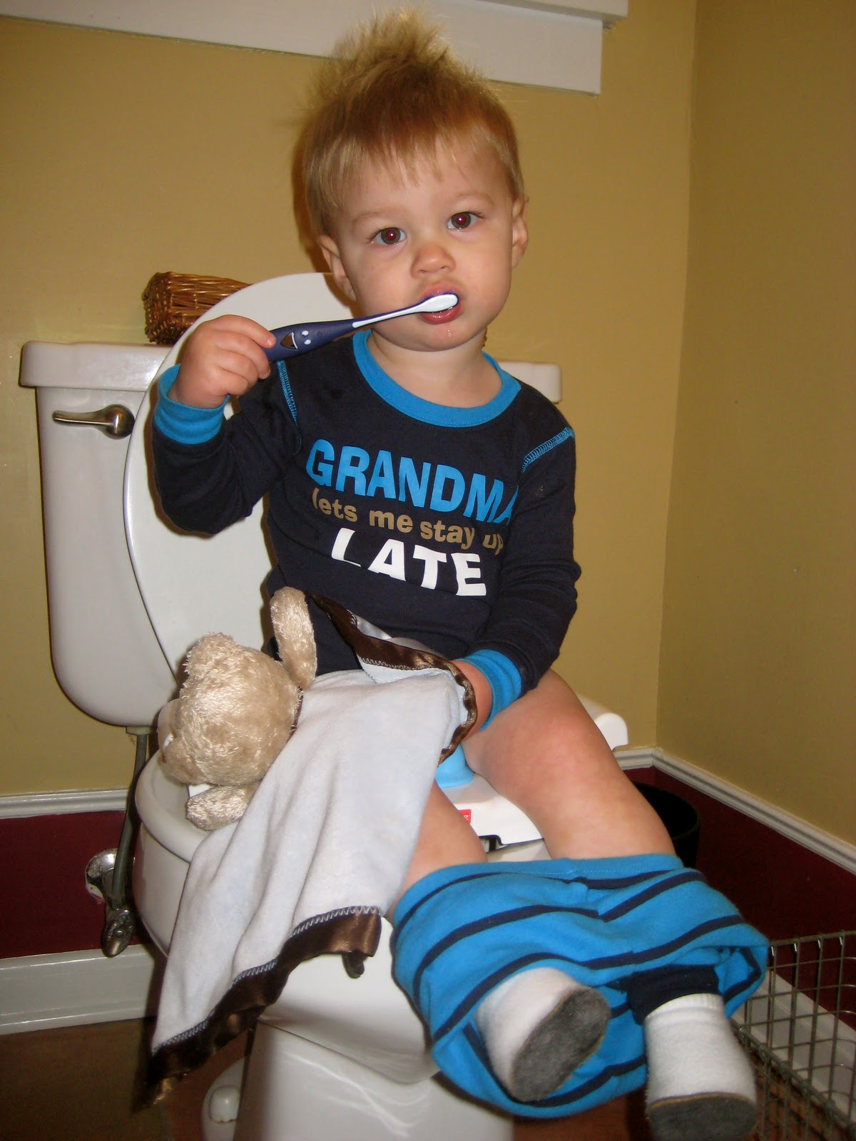 Katis Get Away...: Big Boy Potty!
