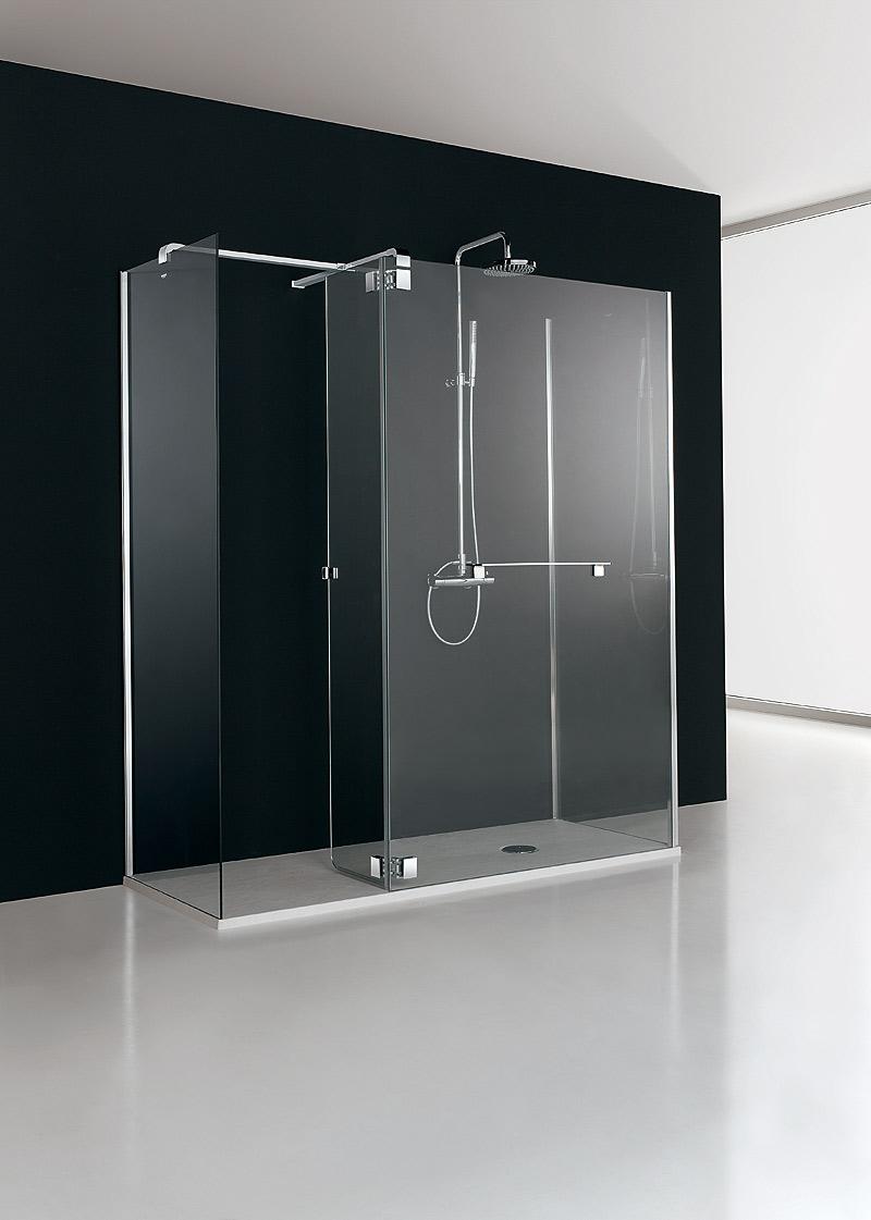 Mampara minimalista para ducha de profiltek dise o de - Ducha de diseno ...