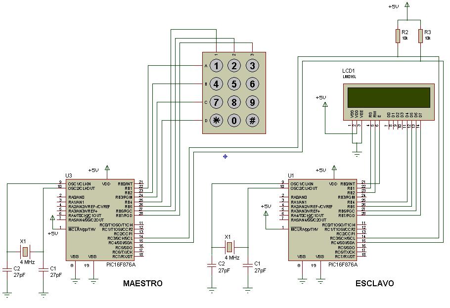 RobotyPic: Comunicación I2C entre 2 PIC