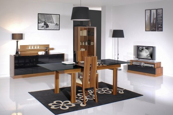 art deco les plus belles salle a manger. Black Bedroom Furniture Sets. Home Design Ideas