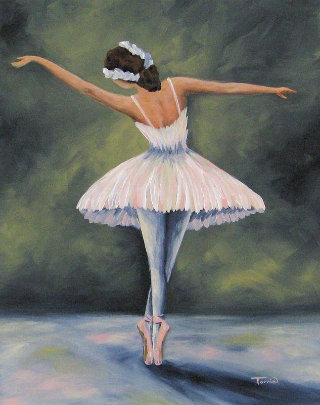 Torrie Smiley, Original Works of Art: New Large Ballerina ...