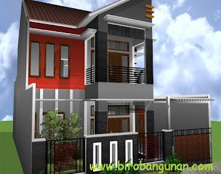 desain rumah bpk hartono : desain rumah minimalis