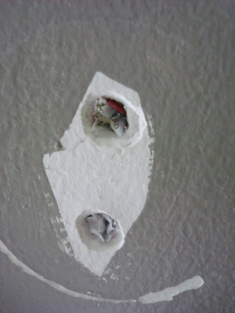 How to patch anchor holes in wall