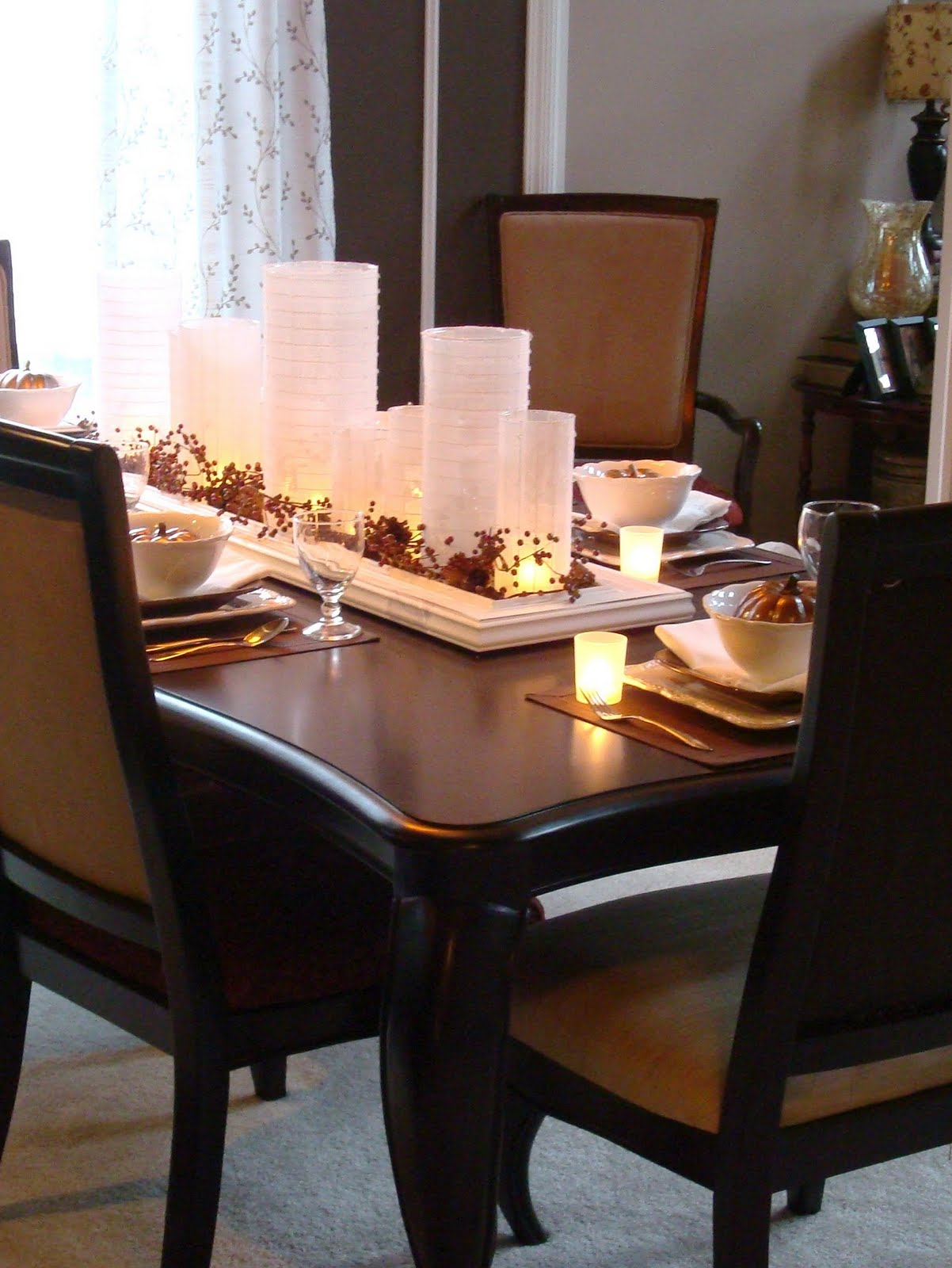 Dining Table Set Up Ideas 16 Thanksgiving Table Ideas Table Setting