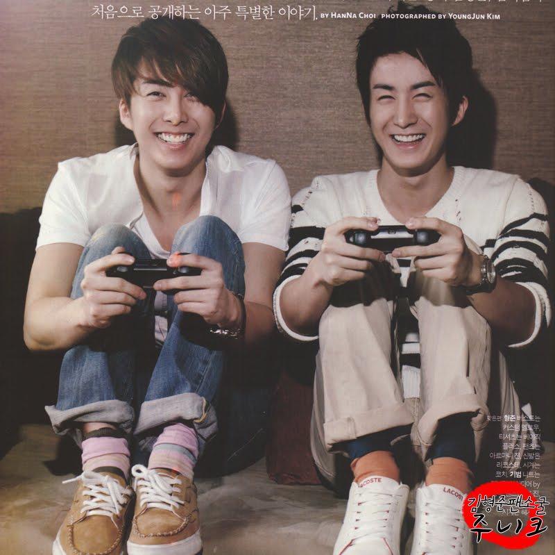 Kim Hyung Jun & Kim Ki Bum: Brother To Brother