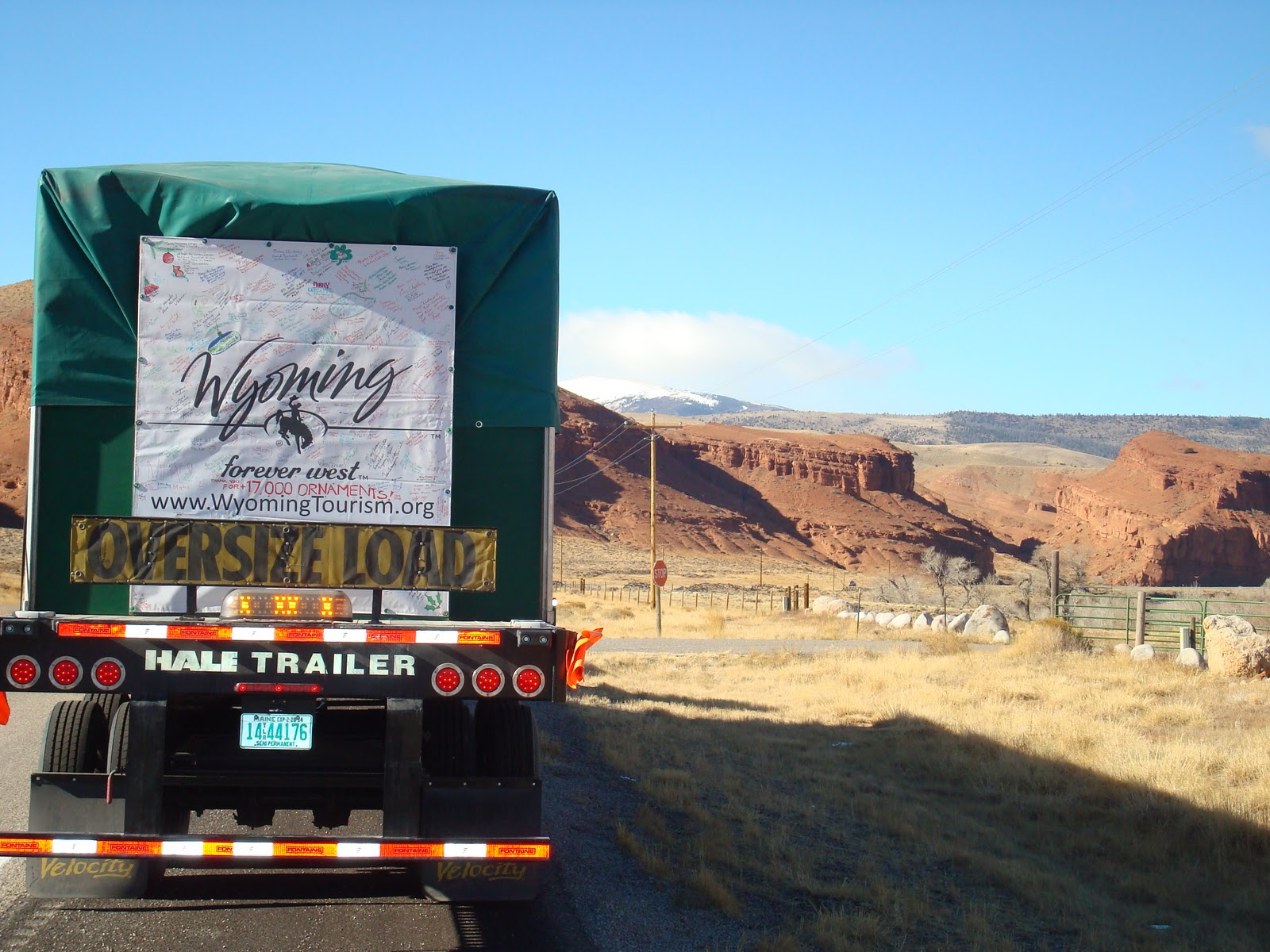 Capitol Christmas Tree 2010: CCT Stops in Lander, Dubois and Riverton