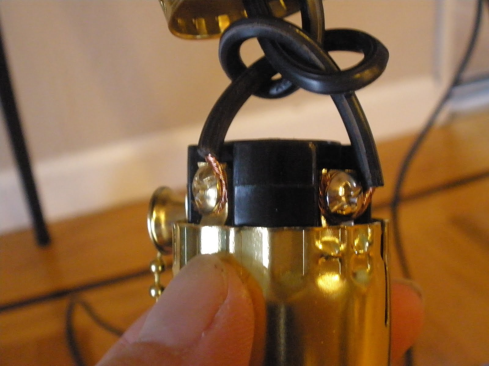 Pregnant With Power Tools Electrical Wiring Tutorial A Lamp Connecting Wires