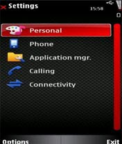 Mobile Phone Gallery: Nokia 5310 XpressMusic Themes (Asphalt