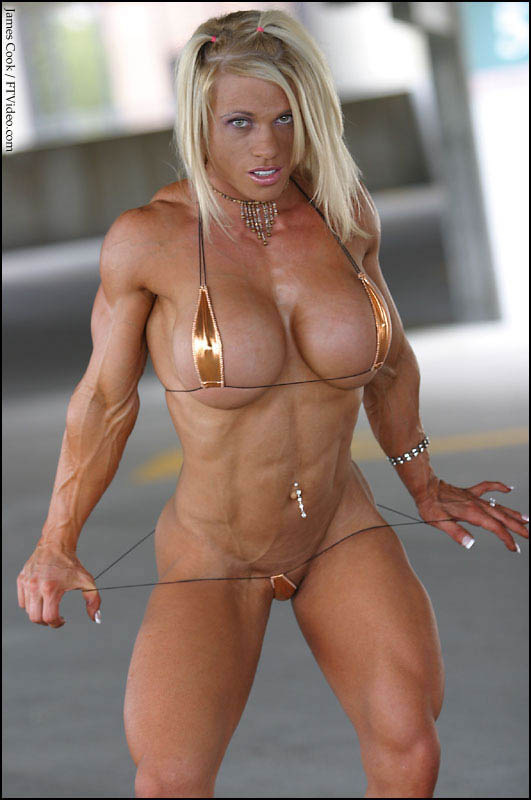 Bodybuilder Woman Naked 76