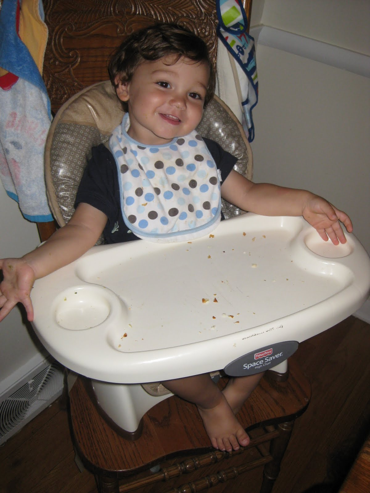 Hannemaniacs Out Of The High Chair
