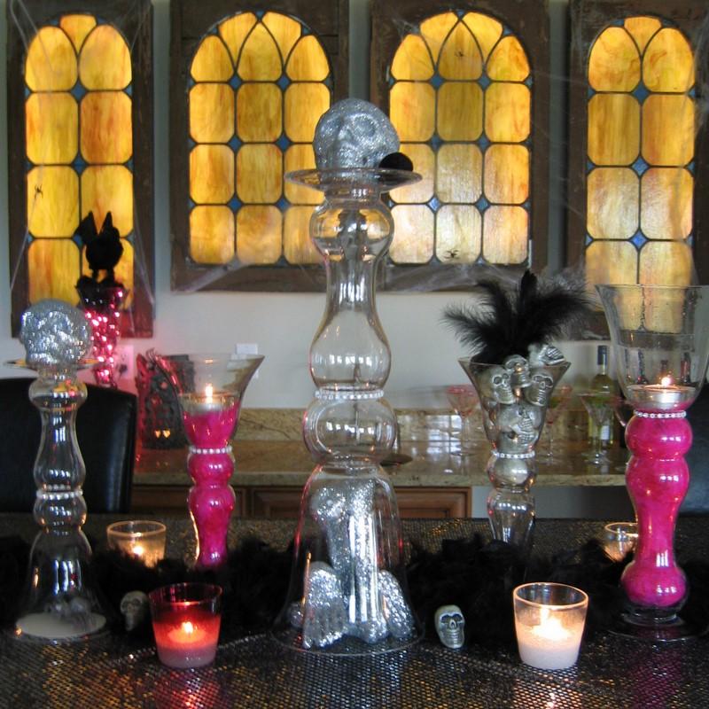 Gothic Wedding Decoration Ideas: Kara's Party Ideas Glam Gothic Halloween Party!