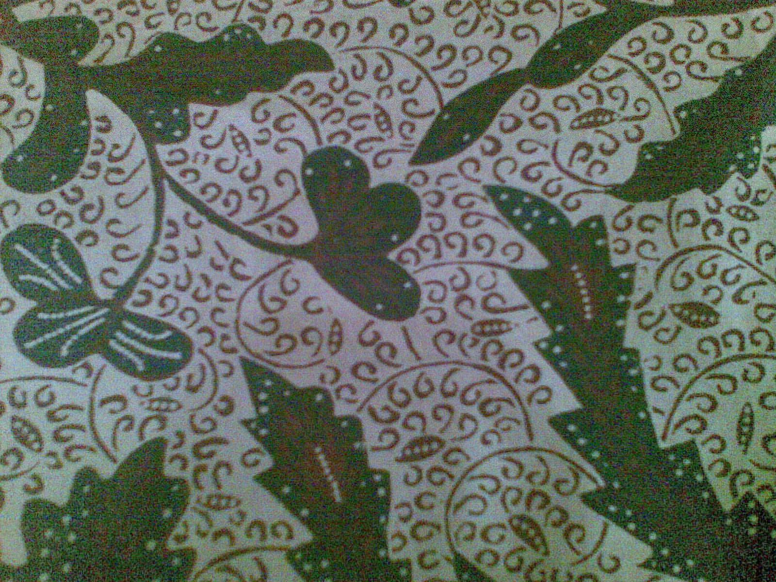 Contoh Gambar Batik Sd Contoh Diam