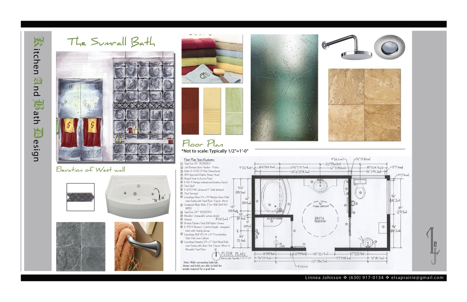 Interior Design Portfolio: Linnea Johnson Portfolio ...