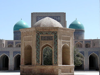 A mosque in Bukhara