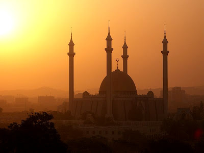 Mosque in Abuja, Capital city of Nigeria