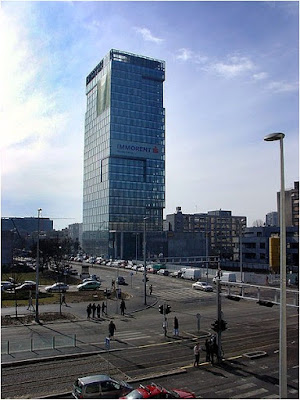 Euro tower in Zagreb