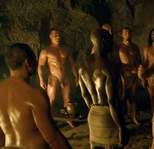 gay nudity in spartacus